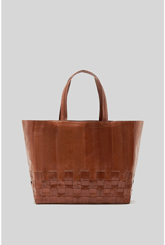 SAC SHOPPING EXOTIC WOVEN