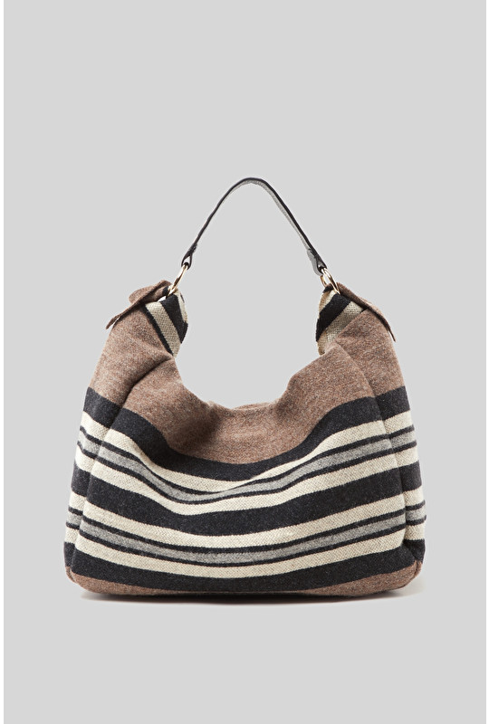 BERBER STRIPES SHOULDER BAG