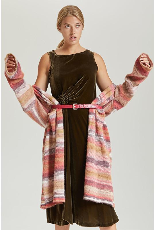 FLUID VELVET DRESS