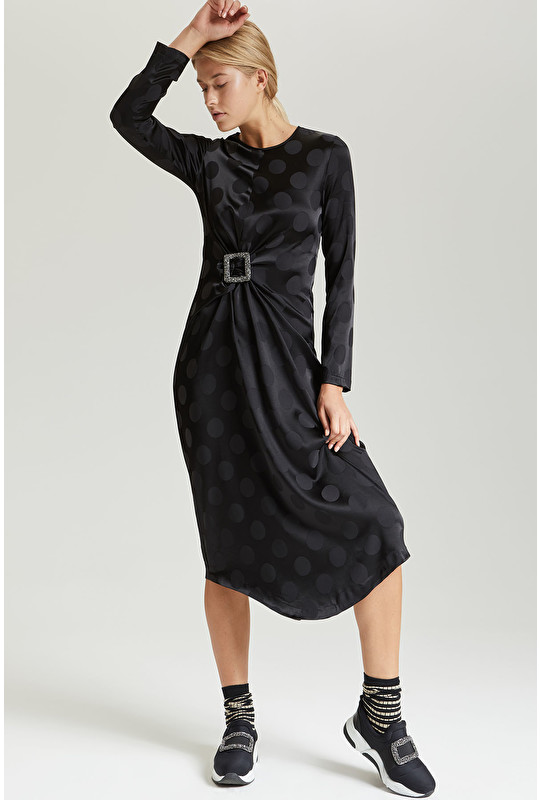 DOT PIN DRESS