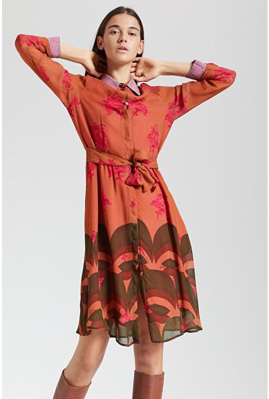GEORGETTE BOHO LILY DRESS