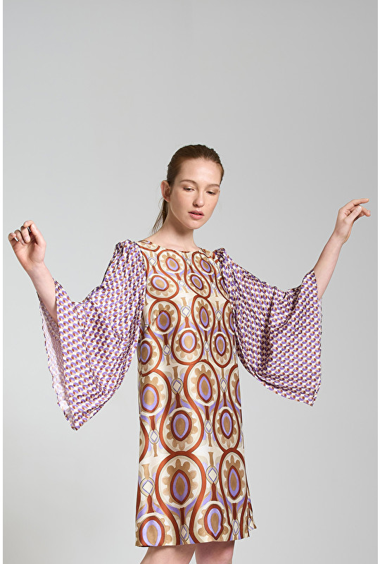 TWILL PATCH DRESS