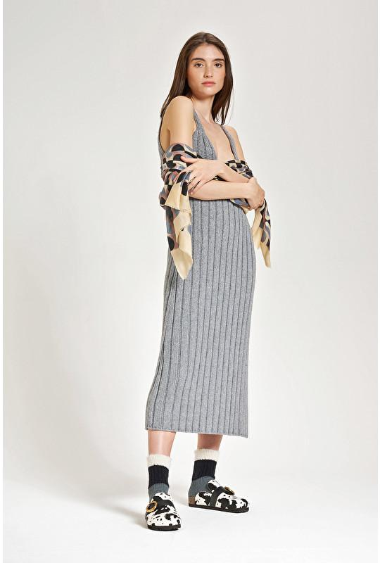 ECO WOOL BLEND DRESS