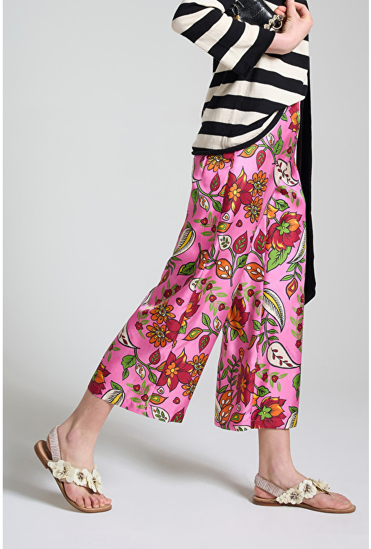 COLLECTION PRINT TROUSERS