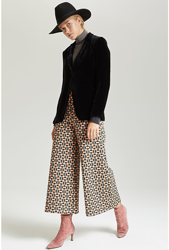 OCTO TIE JERSEY TROUSERS