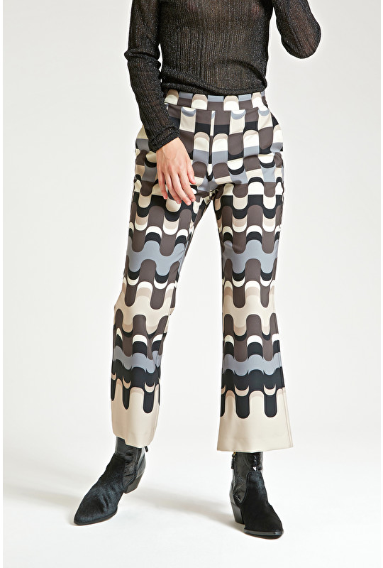 NEO MODERN CADY TROUSERS