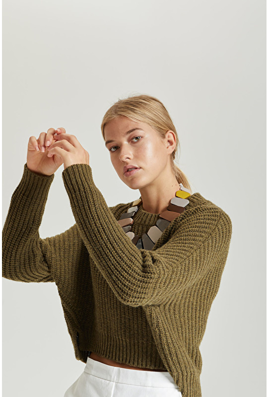 COB RIB SWEATER