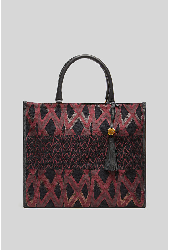 ICONIC JACQUARD HAND BAG