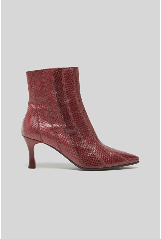 EXOTIC DEGRADE' ANKLE BOOTS